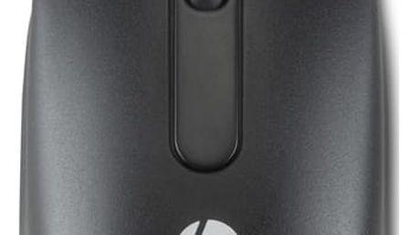 HP USB myš, černá - QY778AA