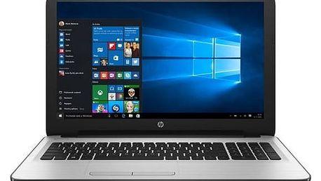 Notebook HP 15-ba066nc (X3L19EA#BCM) stříbrný/bílý Monitorovací software Pinya Guard - licence na 6 měsíců (zdarma) + Doprava zdarma