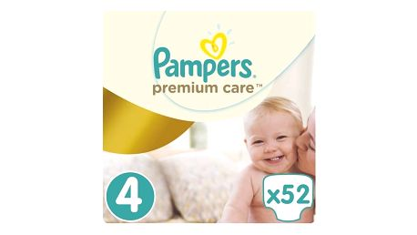 Plenky Pampers Premium Care Maxi vel. 4, 7-14kg, 52 ks