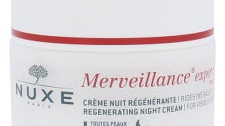 NUXE Merveillance Regenerating Night Cream 50 ml noční pleťový krém proti vráskám pro ženy