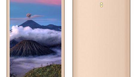 Mobilní telefon Aligator S5060 Dual SIM (AS5060GD) zlatý