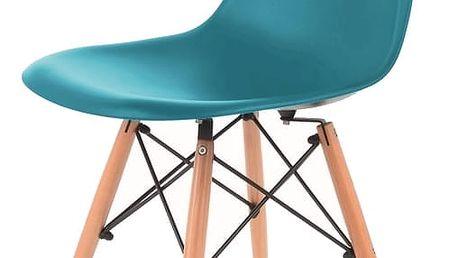 Jídelní židle MODENA tyrkysová
