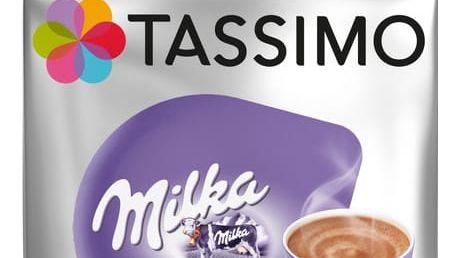 Tassimo Milka horká čokoláda 8 ks