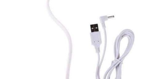 Stolní LED lampička EMOS D08W stmívatelná, 2,5W, USB (USB-LAMP-D08-WHITE) bílá