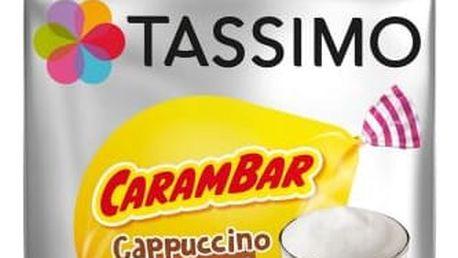 Tassimo Cappuccino Carambar karamelové 8+8ks