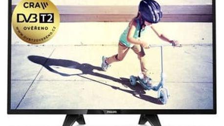 Televize Philips 32PHS4132/12 černá