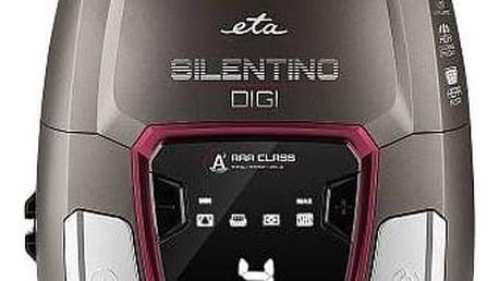 Vysavač podlahový ETA Silentino Digi 2510 90000 červený/hnědý + Doprava zdarma
