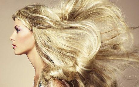 Keratin pro vlasy s mytím, foukanou a stylingem