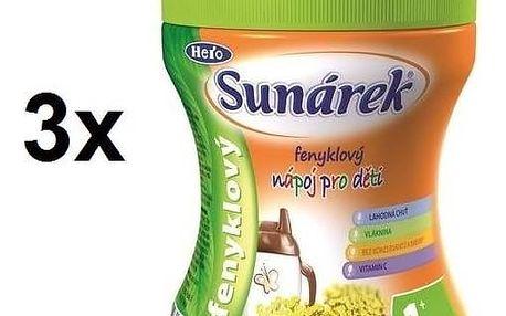 Instantní nápoj Sunárek fenykl, 200g x 3ks