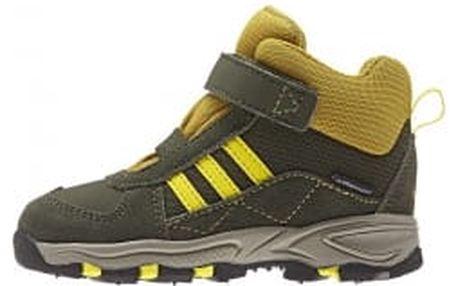 Dětské zimní boty adidas POWDERPLAY MID CF CP I | B27306 | Béžová | 25