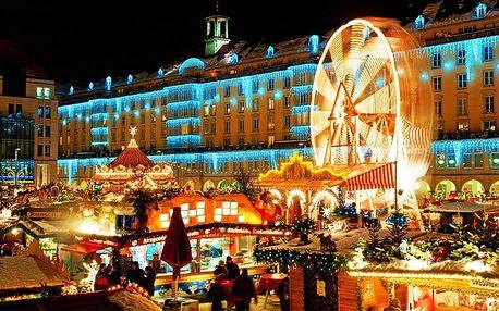 Celodenní zájezd na vánoční trhy v Drážďanech s možností prohlídky pro 1