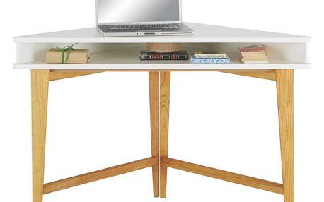 Rohový psací stůl durham, 115/76/55 cm