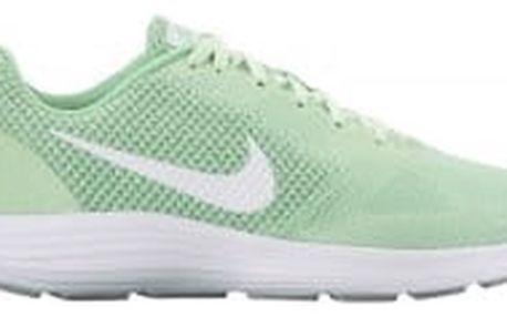 Dámské běžecké boty Nike WMNS REVOLUTION 3 | 819303-303 | Zelená | 41