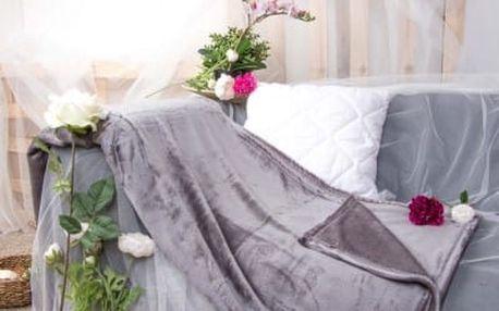 XPOSE ® Deka mikrovlákno - tmavě šedá 150x200 cm