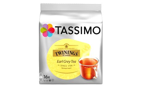 Tassimo Twinings Earl Grey tea 16ks