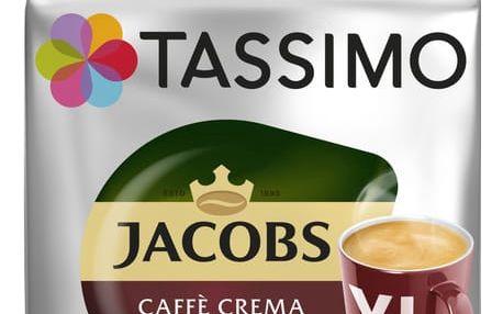 Tassimo Caffe Crema Classico XL - červená 16ks
