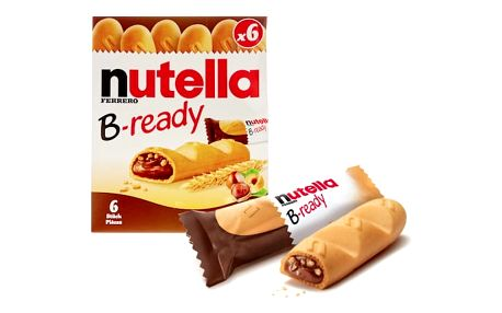 Nutella B-ready 6 ks (132g)