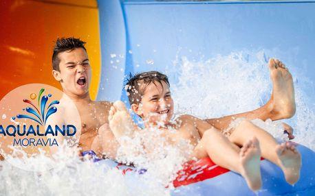 Aqualand Moravia: zvýhodněný vstup ve všední dny i o víkendech, varianty s wellness.