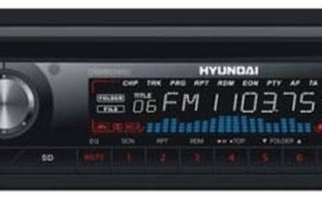 Autorádio s CD Hyundai CRMB 229 SU černé