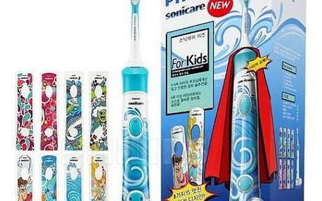 Philips Sonicare for Kids HX6311/07 Super Hero (+ 8 designových samolepek)