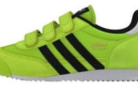 Dětské boty adidas Originals DRAGON CF C | B25684 | Zelená | 33