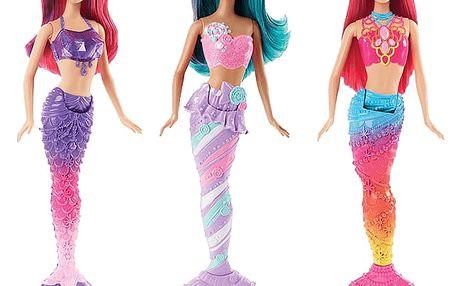 MATTEL BARBIE Mořská panna – různé druhy
