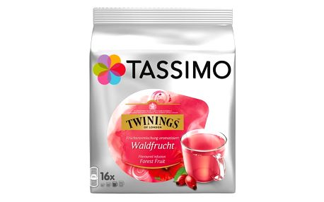 Tassimo Twinings čaj lesní ovoce 16 ks