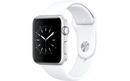Apple Watch 42mm Silver Aluminium Case with White Sport Band - MNNL2CN/A