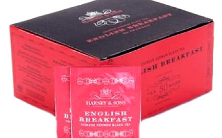 Čaj English Breakfast Harney & Sons 50 sáčků