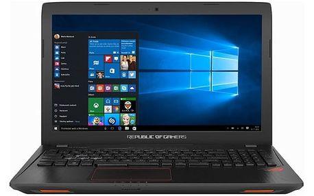 Notebook Asus GL553VD-FY514T (GL553VD-FY514T) černý + DOPRAVA ZDARMA
