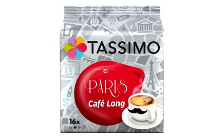 Tassimo Paris Café long 16 kapslí