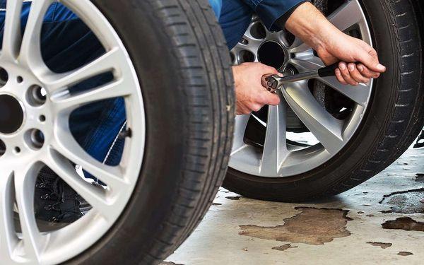 Přezutí a vyvážení pneumatik v Brně