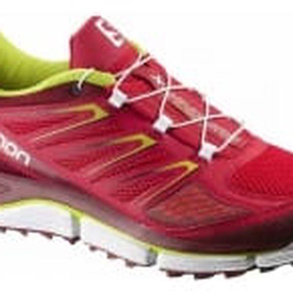 Pánské běžecké boty Salomon X-WIND PRO | 370788 | Červená | 42