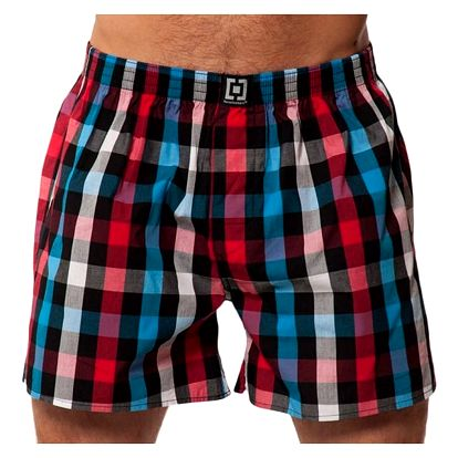 Pánské Trenky Horsefeathers Sin Boxer Shorts Red M