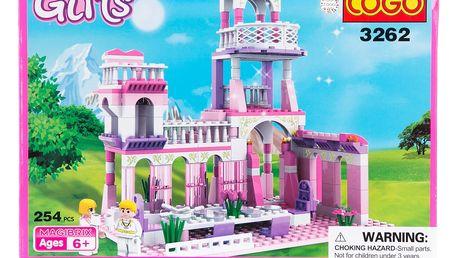 COGO Girls Zámek pro princezny - 254 ks