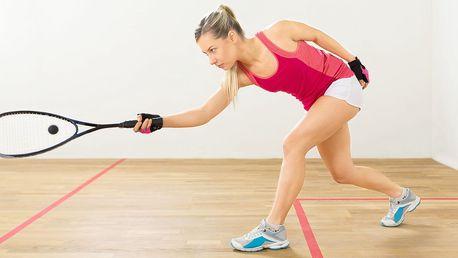 Parádní rozcvička: Hodinový pronájem kurtu na squash