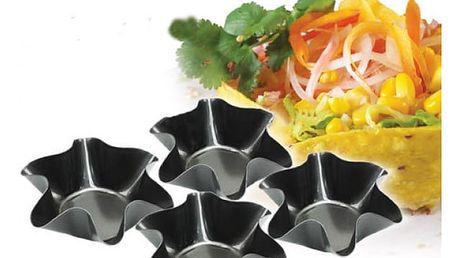 Set pečících formiček Tortilla Bowl 4 ks