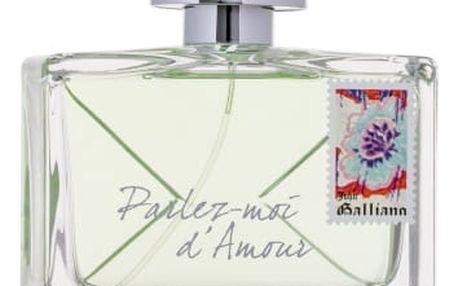 John Galliano Parlez-Moi d´Amour Eau Fraiche 80 ml toaletní voda pro ženy