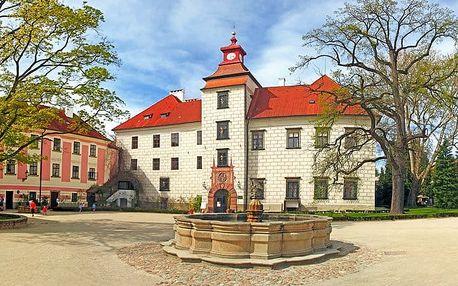3 až 6denní pobyt pro 2 s polopenzí vstupem do lázní v hotelu Galerie Třeboň v Třeboni