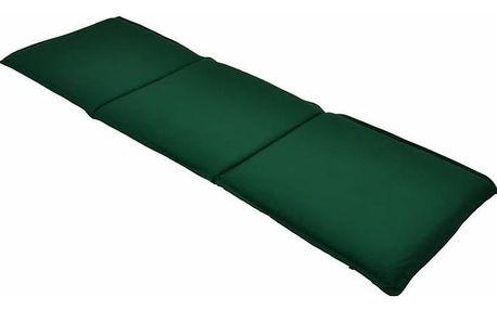 Divero 673 Třímístné polstrování na zahradní lavici - zelené
