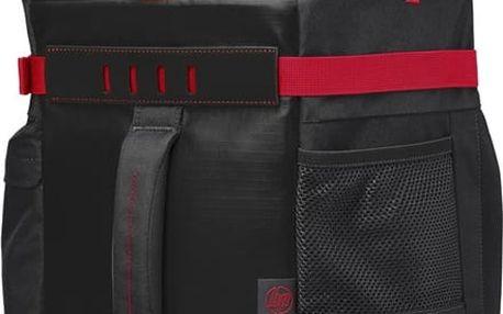 """HP Odyssey Sport Backpack 15.6"""", černo-červená - X0R83AA"""