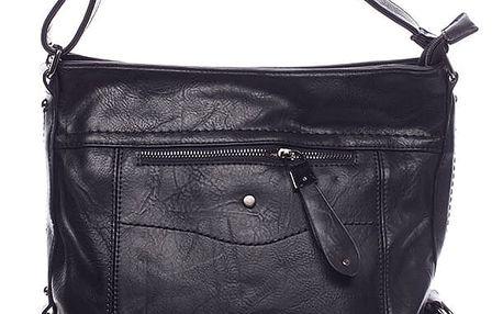 Dámská crossbody kabelka černá - Delami Vivienne černá