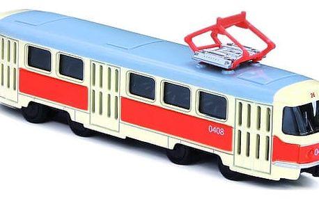 Kovová tramvaj na zpětný chod 16 cm