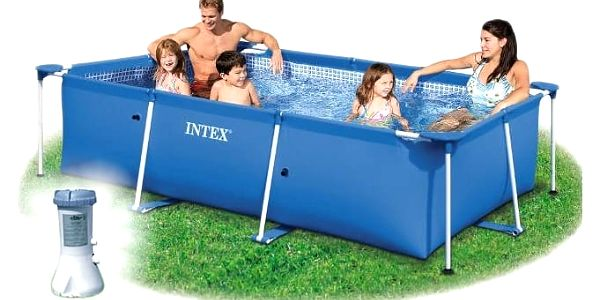 Marimex Bazén Florida Junior 1,5x2,2x0,6 m s kartušovou filtrací - 10340150