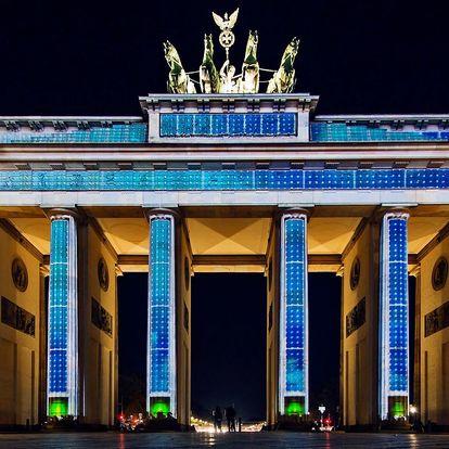 Výlet na Festival světel v Berlíně s průvodcem