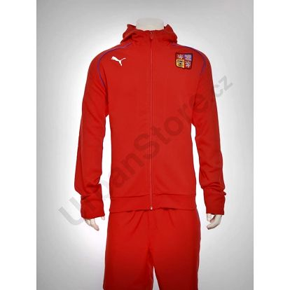 Mikina Puma National Teams Hoode Červená
