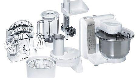 Kuchyňský robot Bosch MUM4880 šedý/bílý