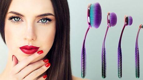 Kosmetická sada štětců Moda Prismatic Face