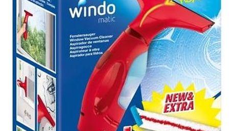 Čistič oken Vileda Windomatic Complete set Čistící přípravek Ajax na sklo 500 ml (zdarma)