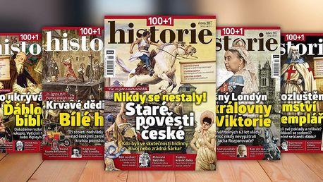 Časopis 100+1 historie, kompletní ročník 2017